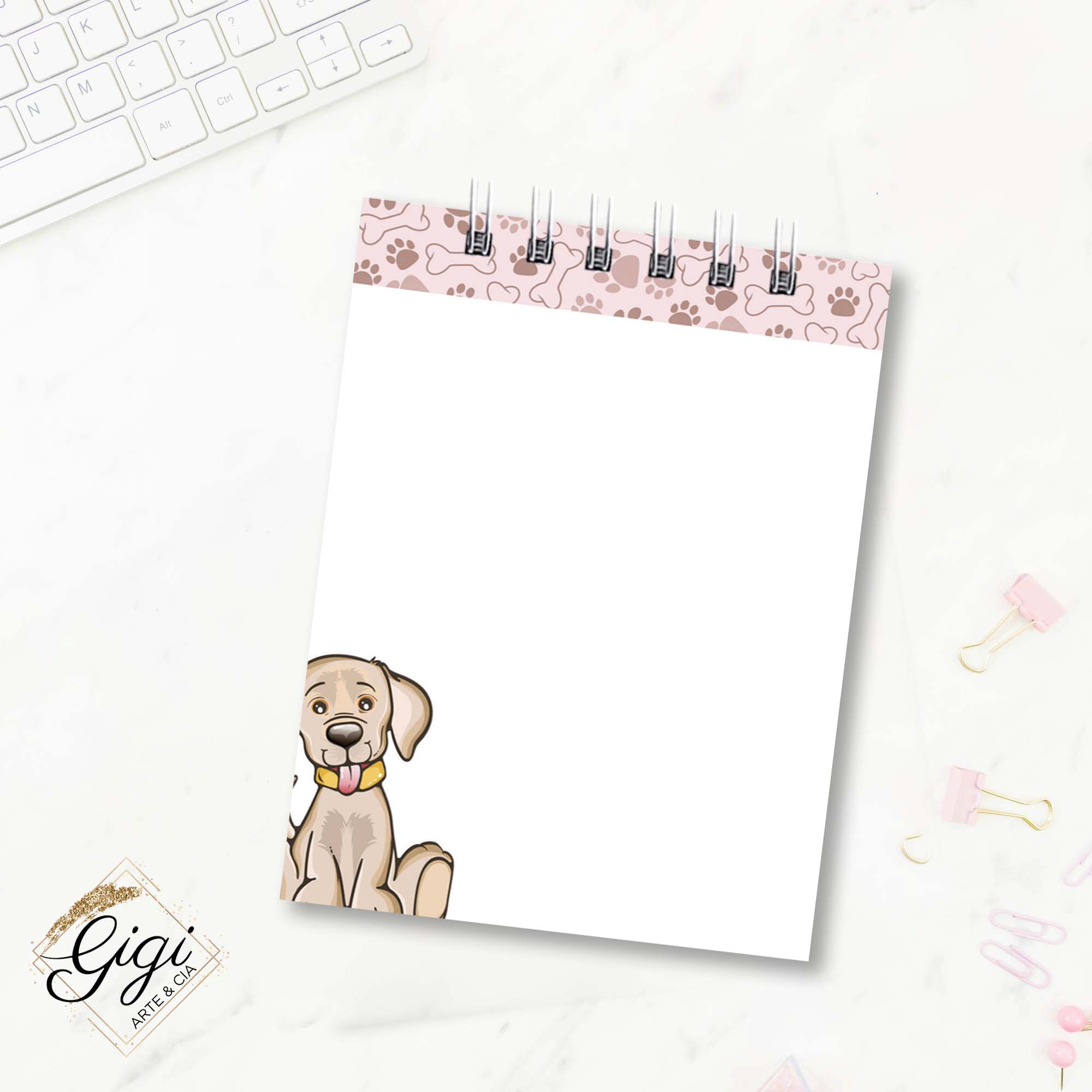 Bloco de Anotações - Pets  - Petit Palais de Papier