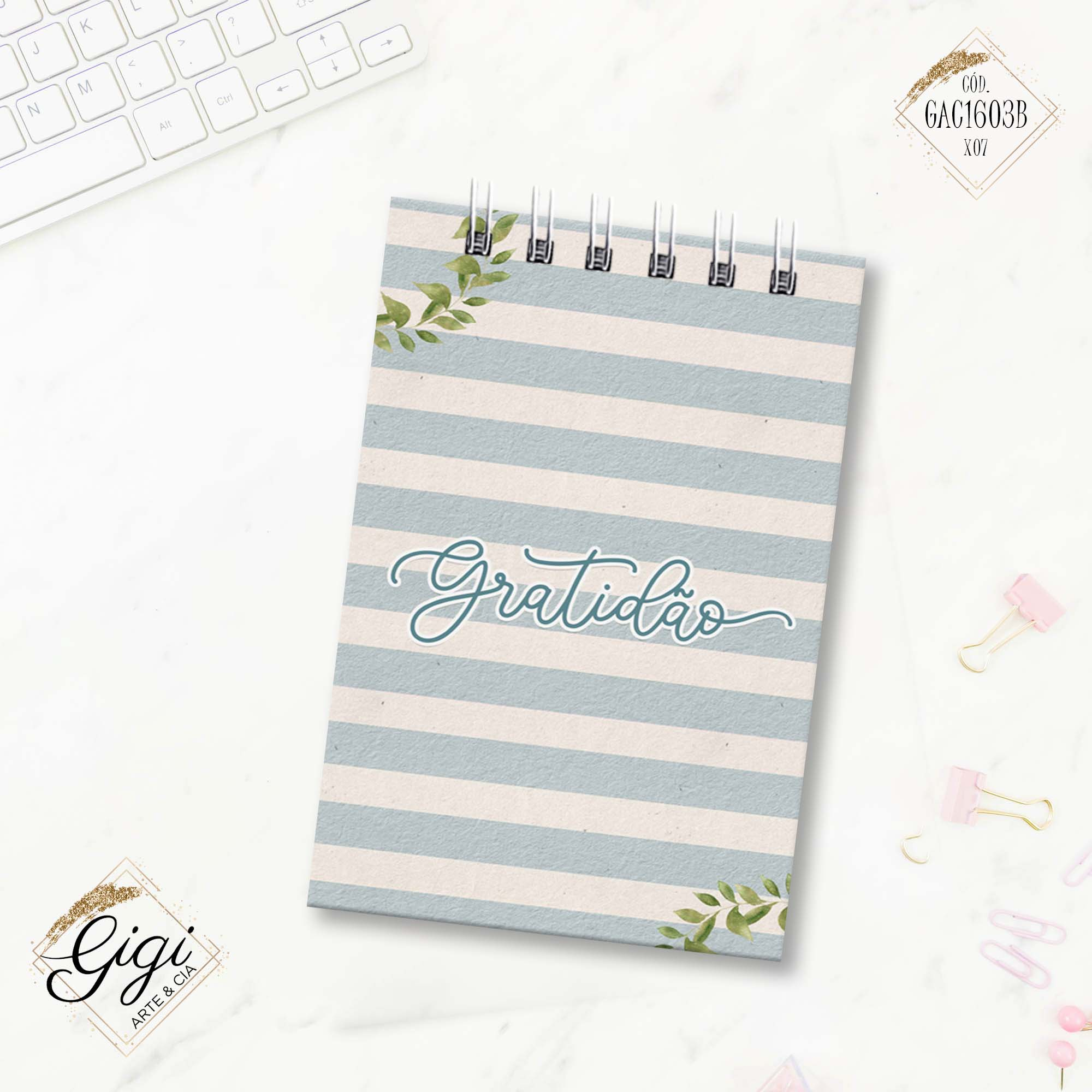 Bloco To Do List - Tropical  - Gigi Arte e Cia