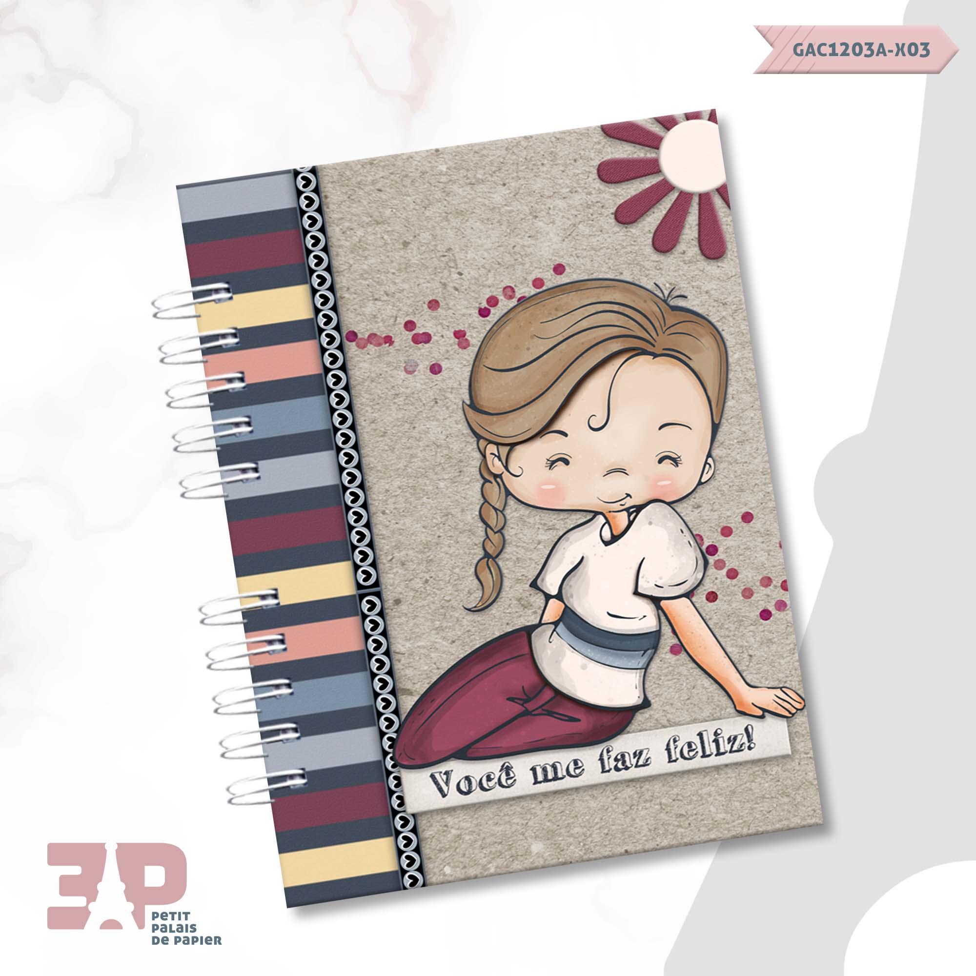 Caderno A5 - Amar é...  - Petit Palais de Papier