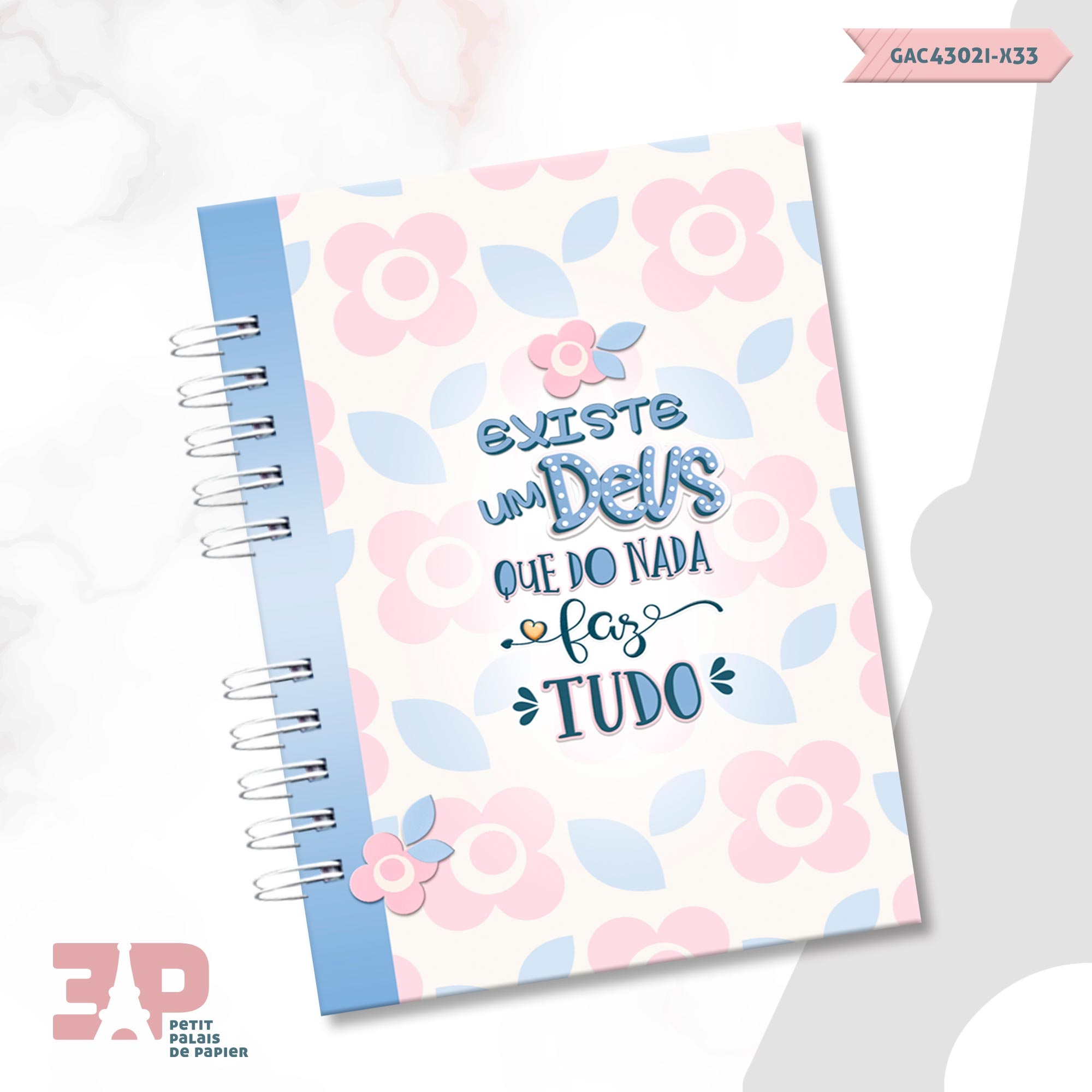 Caderno A5 - Devoção  - Petit Palais de Papier