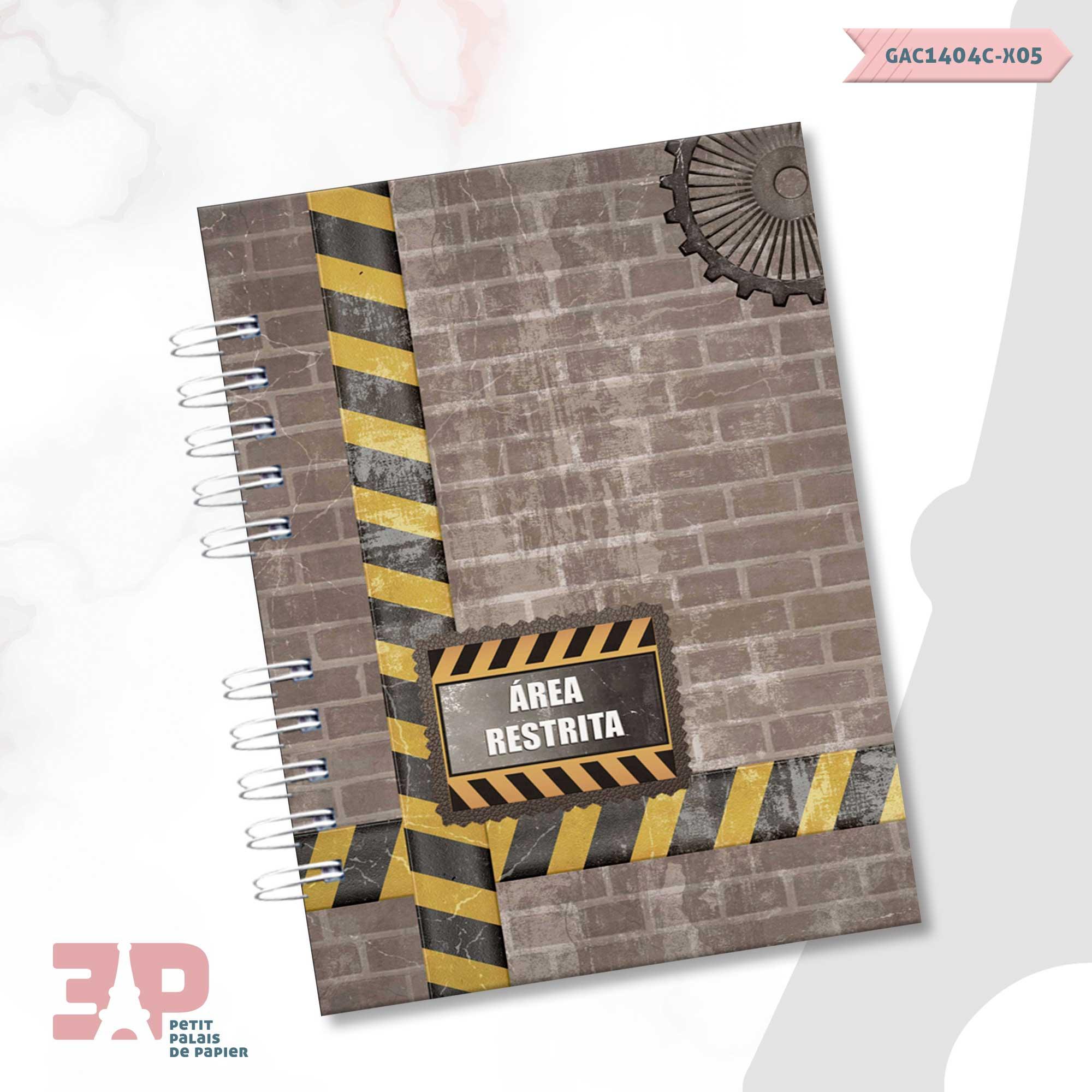 Caderno A5 - For Men  - Petit Palais de Papier