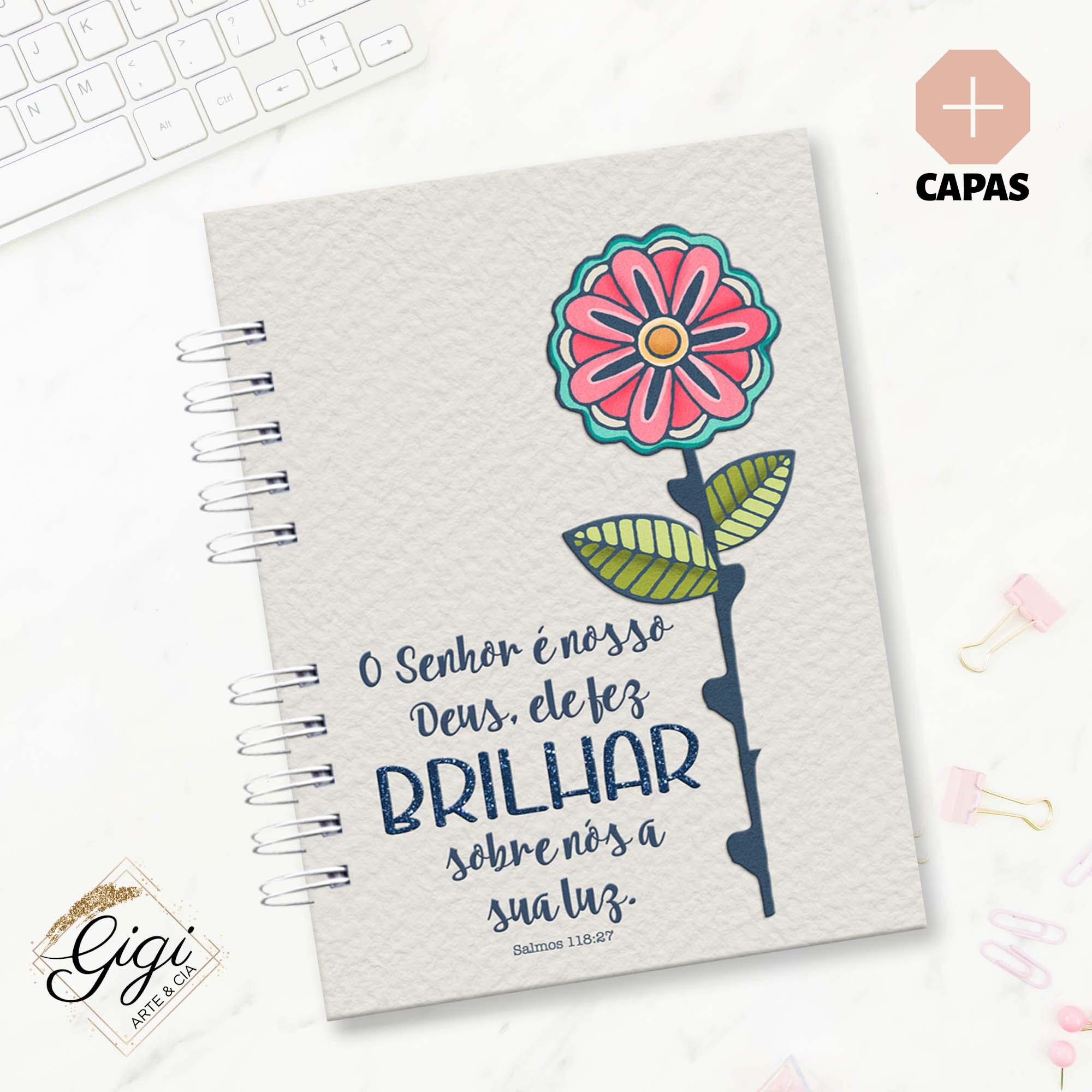 Caderno A5 - O Amor me Amou  - Petit Palais de Papier