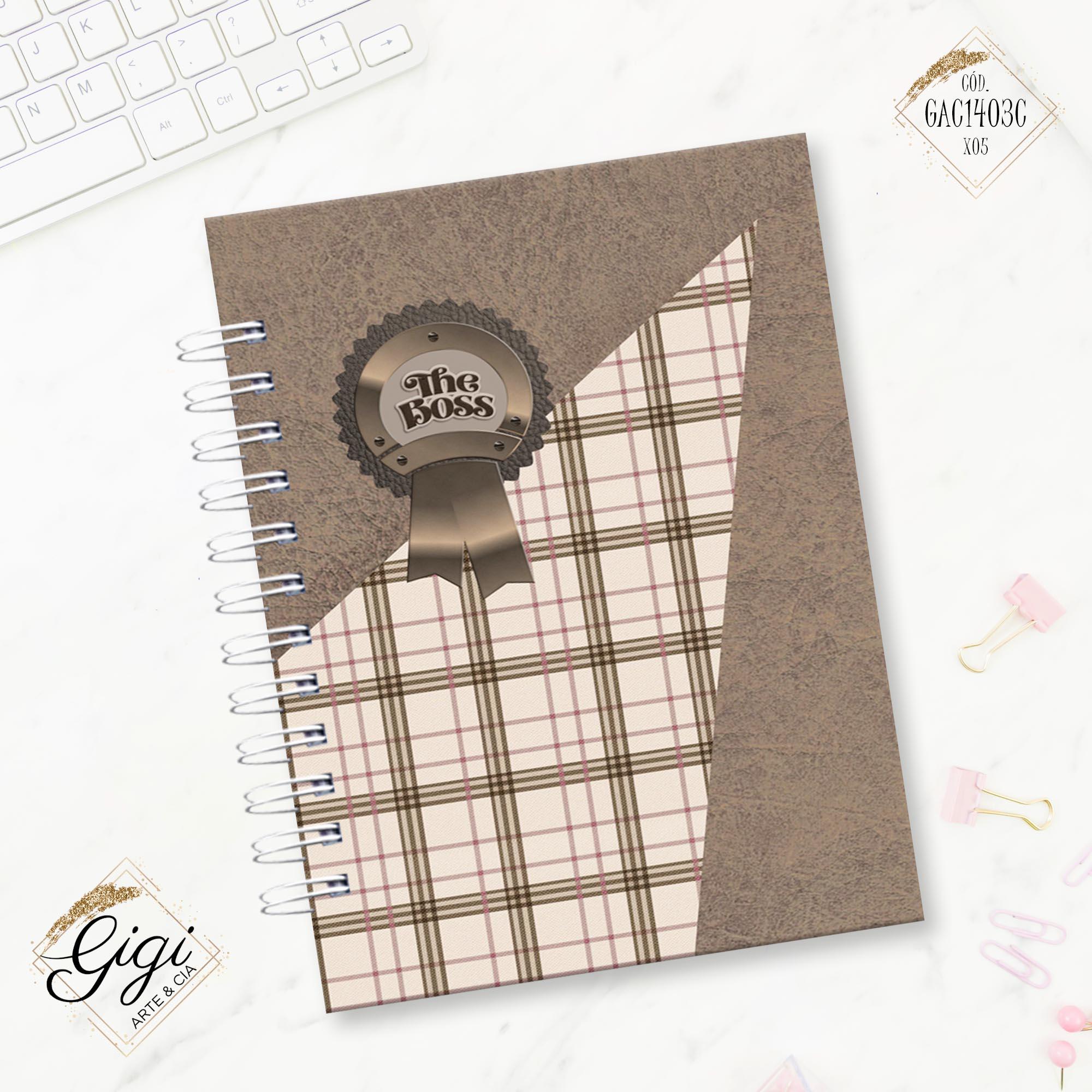 Caderno de Bebidas - For Men  - Gigi Arte e Cia