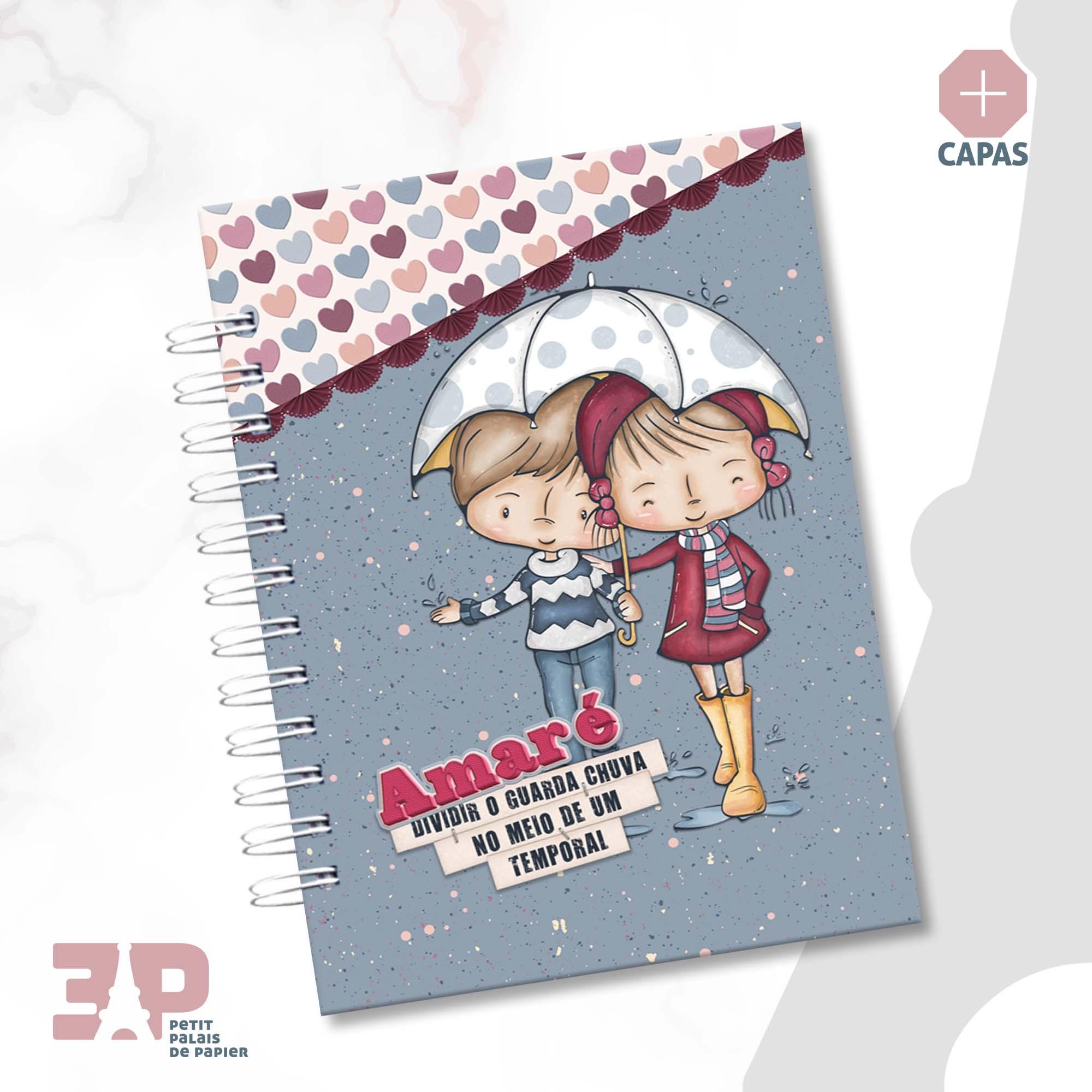 Caderno de Estudos - Amar é...  - Petit Palais de Papier