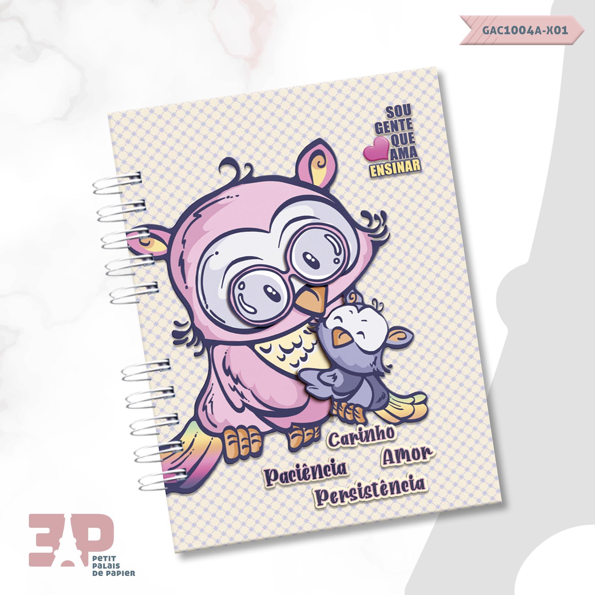 Caderno de Planejamento - Ao Mestre com Carinho  - Petit Palais de Papier
