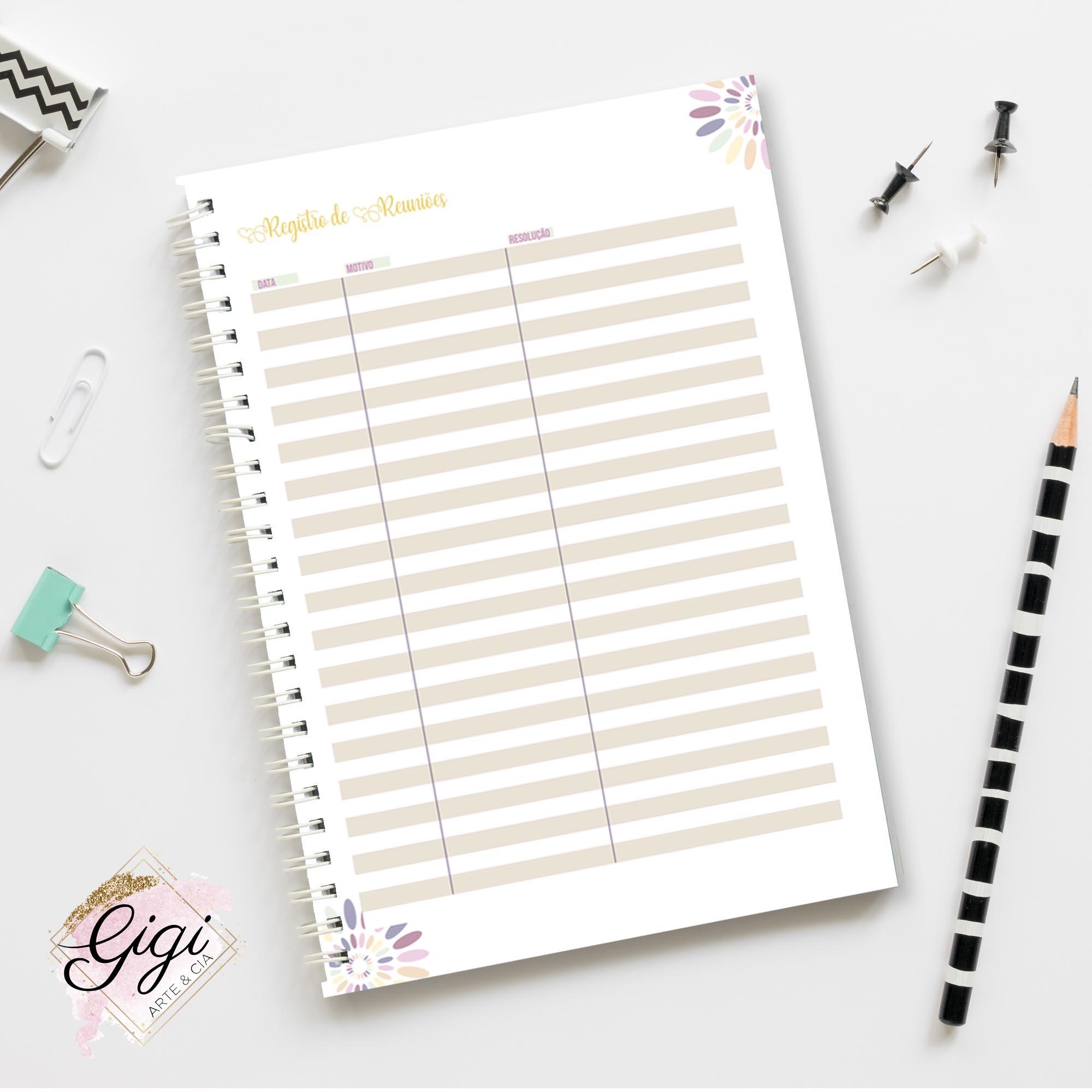 Caderno de Planejamento - Professores  - Gigi Arte e Cia