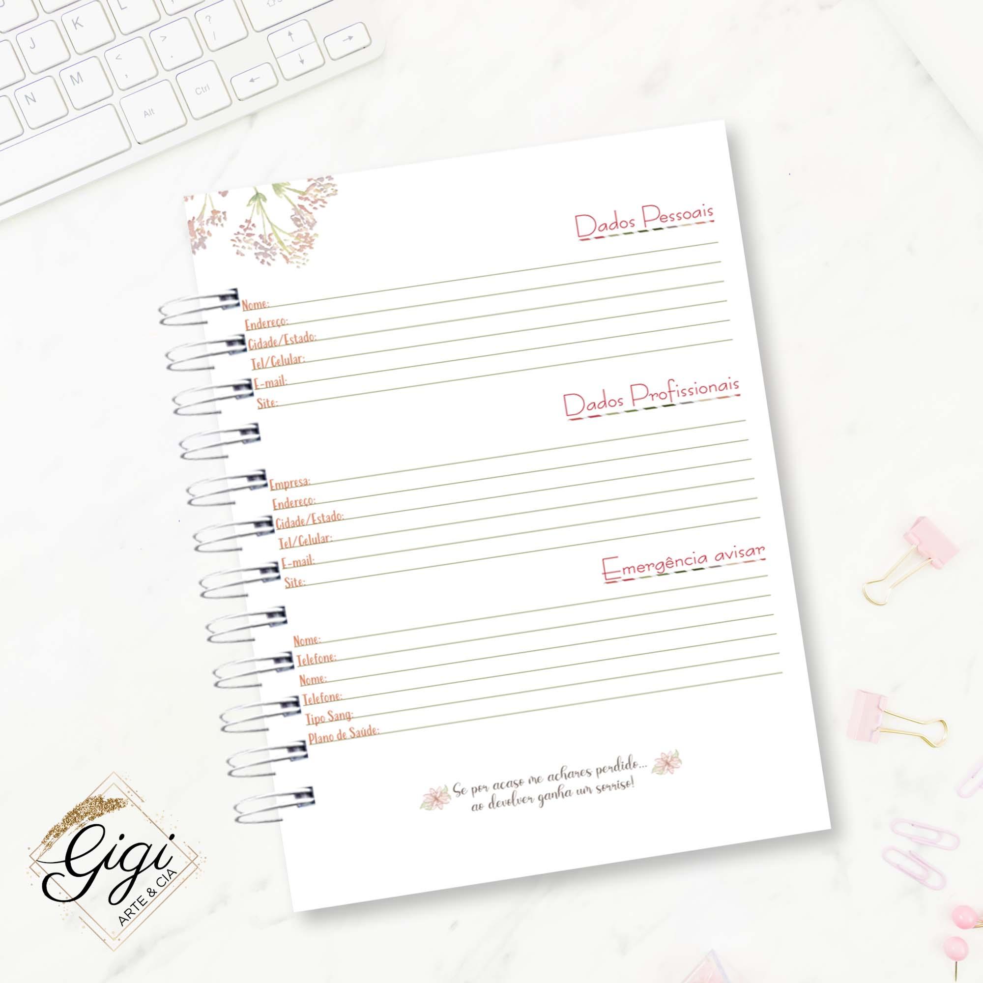 Caderno de Universitário - Panda  - Petit Palais de Papier