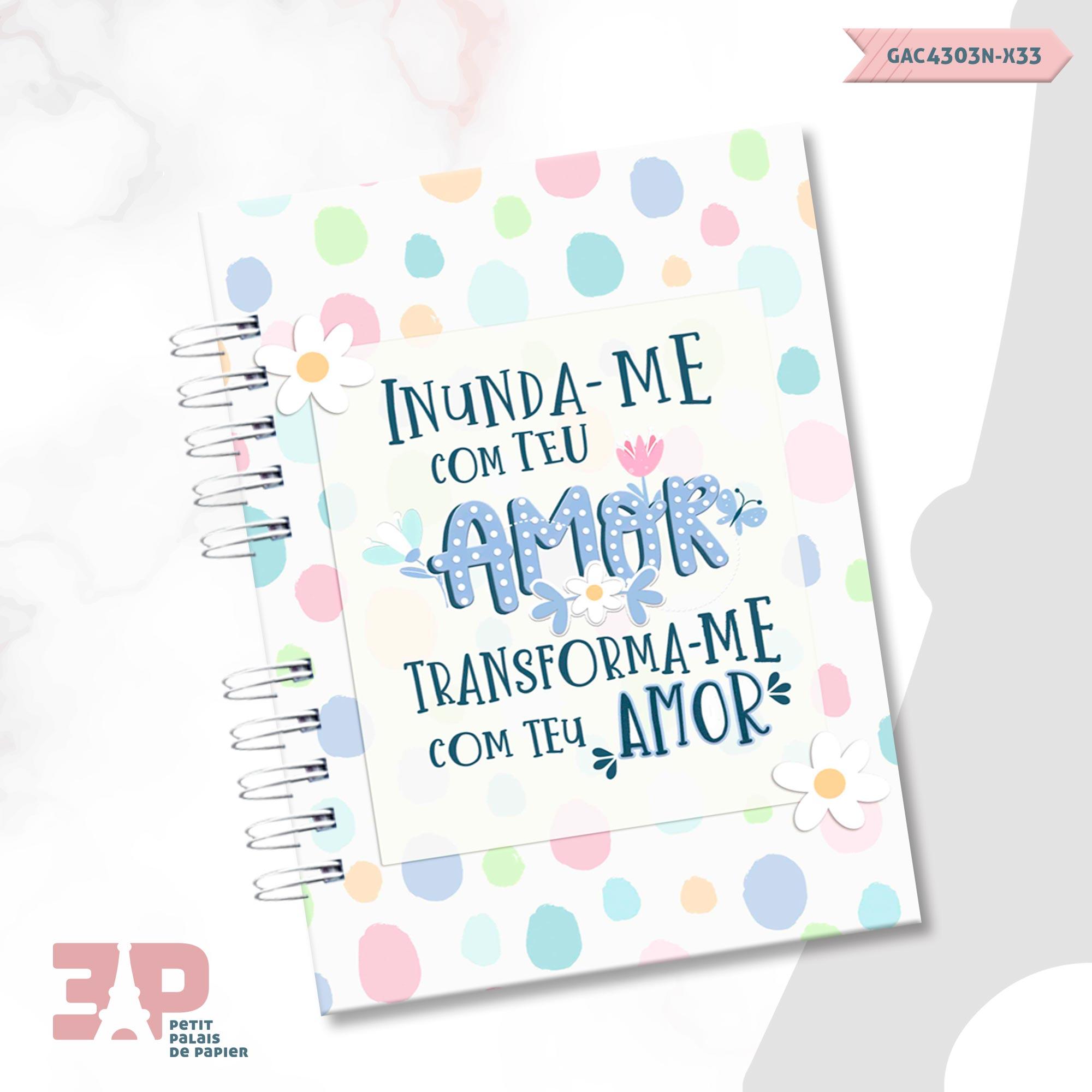 Caderno Devocional A5 - Devoção  - Petit Palais de Papier