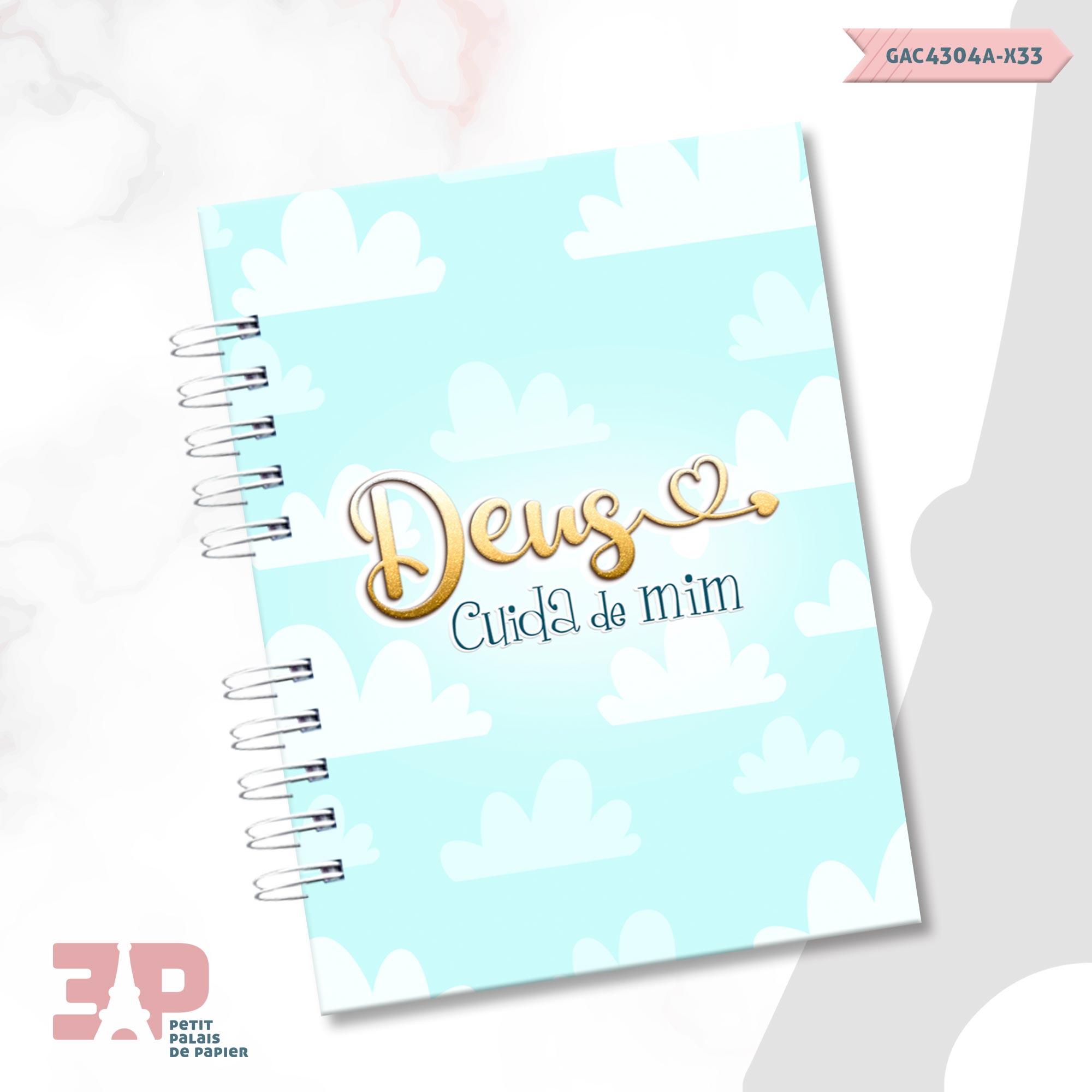 Caderno Devocional A6 - Devoção  - Petit Palais de Papier