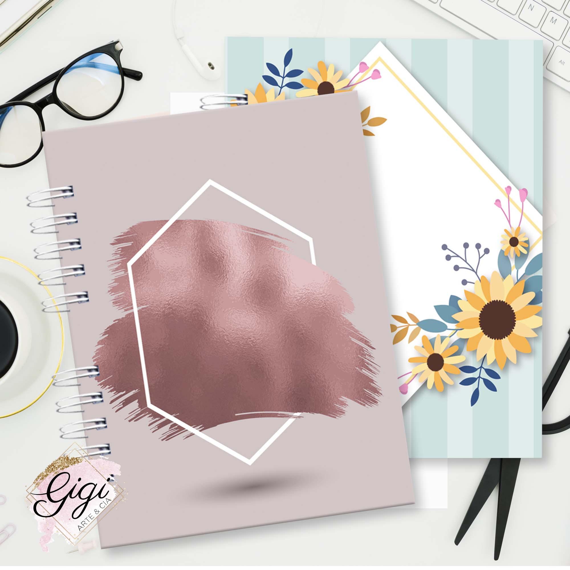 Caderno Universitário   - Gigi Arte e Cia