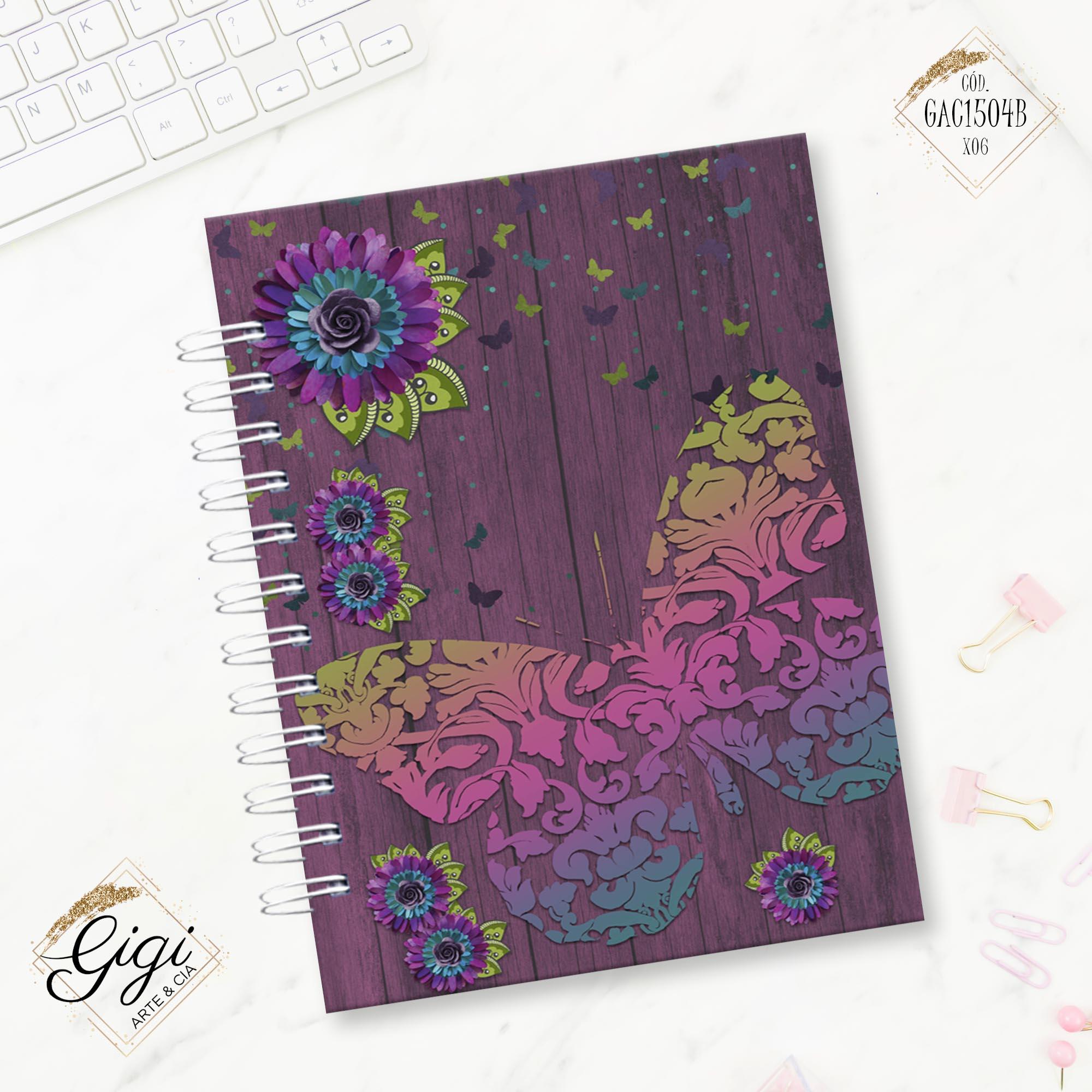 Caderno Universitário - Liberte-se  - Gigi Arte e Cia