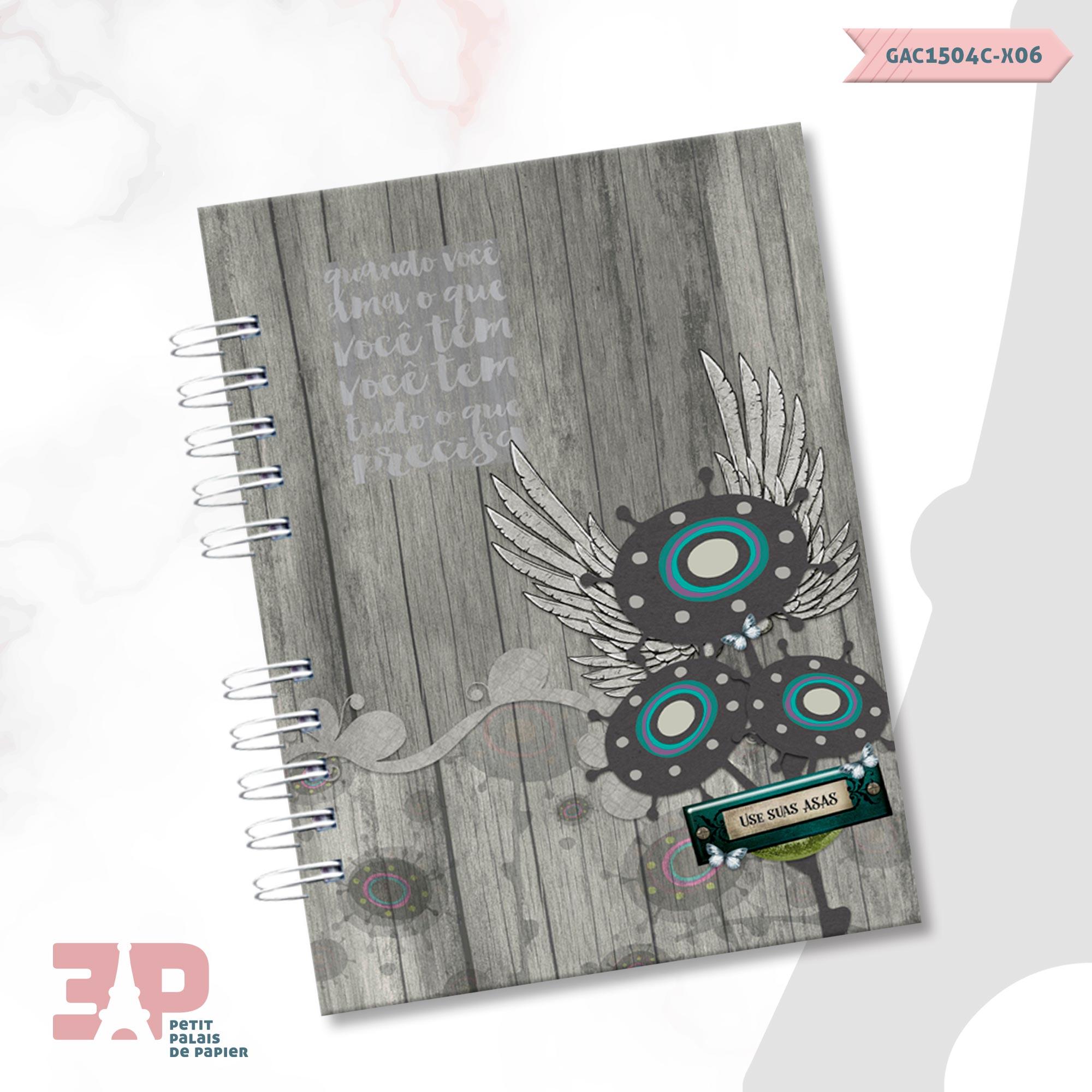 Caderno Universitário - Liberte-se  - Petit Palais de Papier