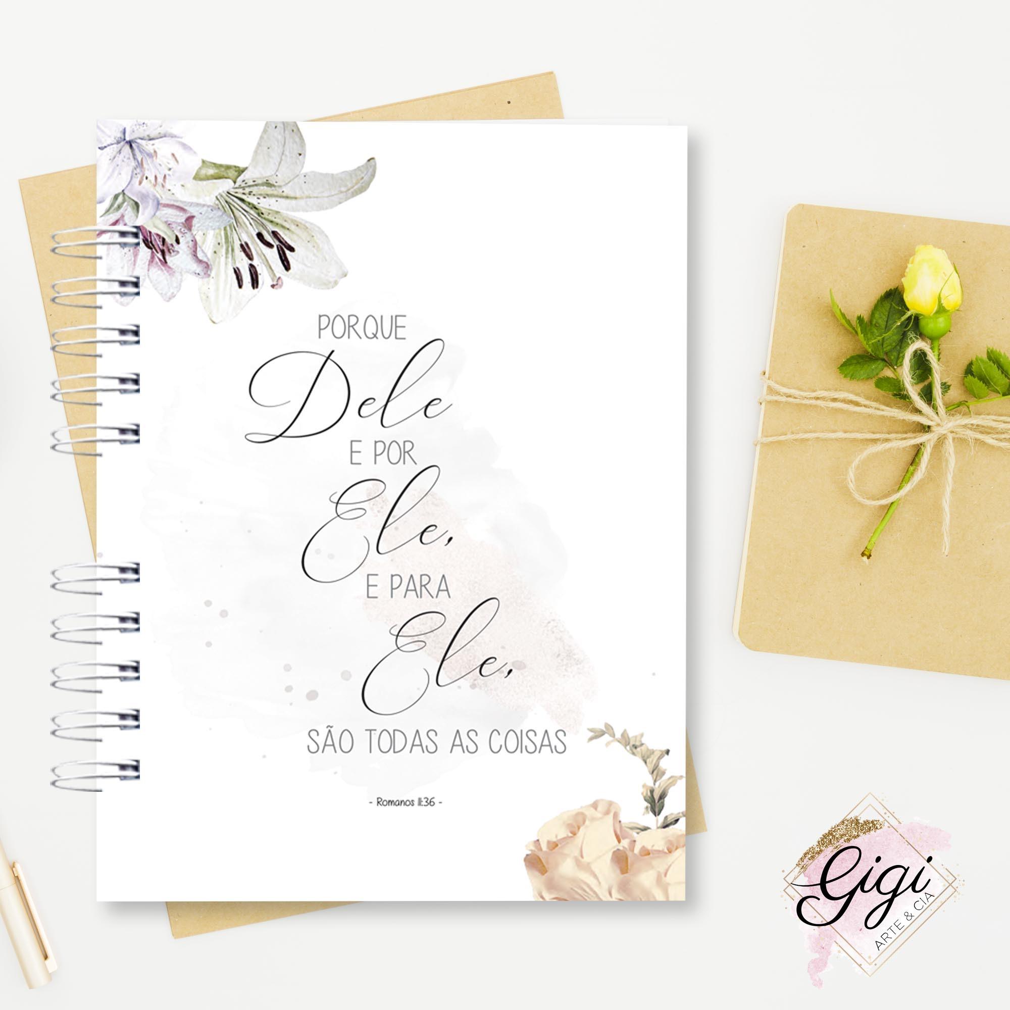 Diário Devocional  - Gigi Arte e Cia