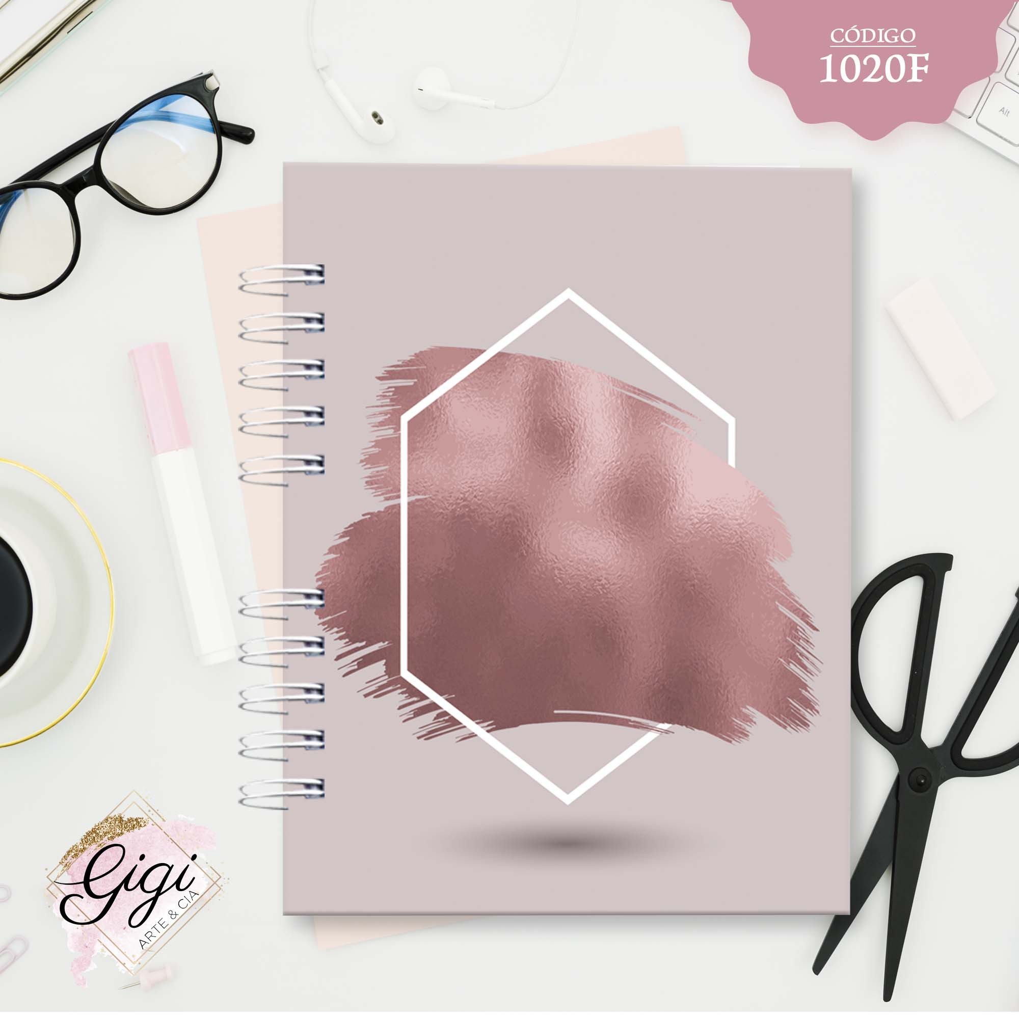 Kits Agenda, Caderno e Bloco de Notas  - Gigi Arte e Cia