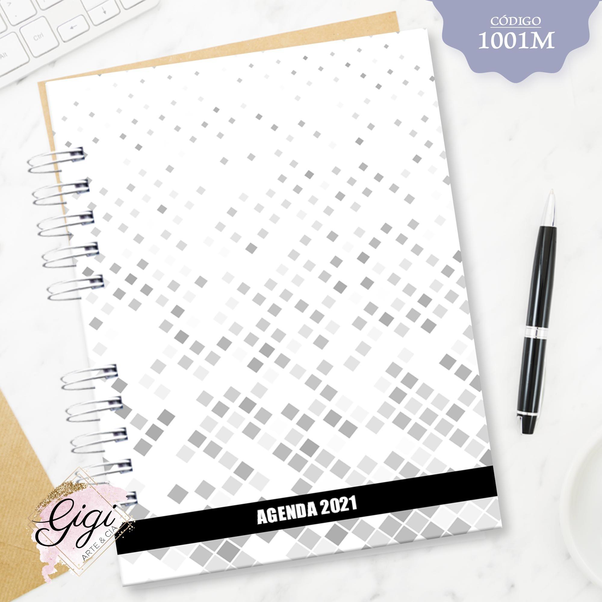 Losangos 1001M - Agendas   Blocos   Cadernos  - Gigi Arte e Cia