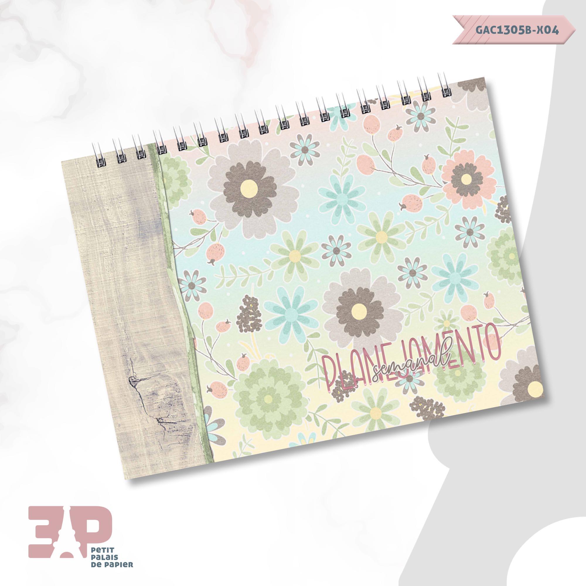 Planejamento Semanal - Pausa Necessária  - Petit Palais de Papier