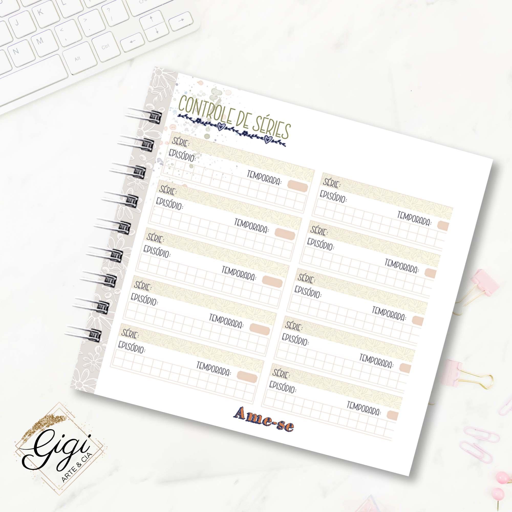 Planner - Ame-se  - Gigi Arte e Cia