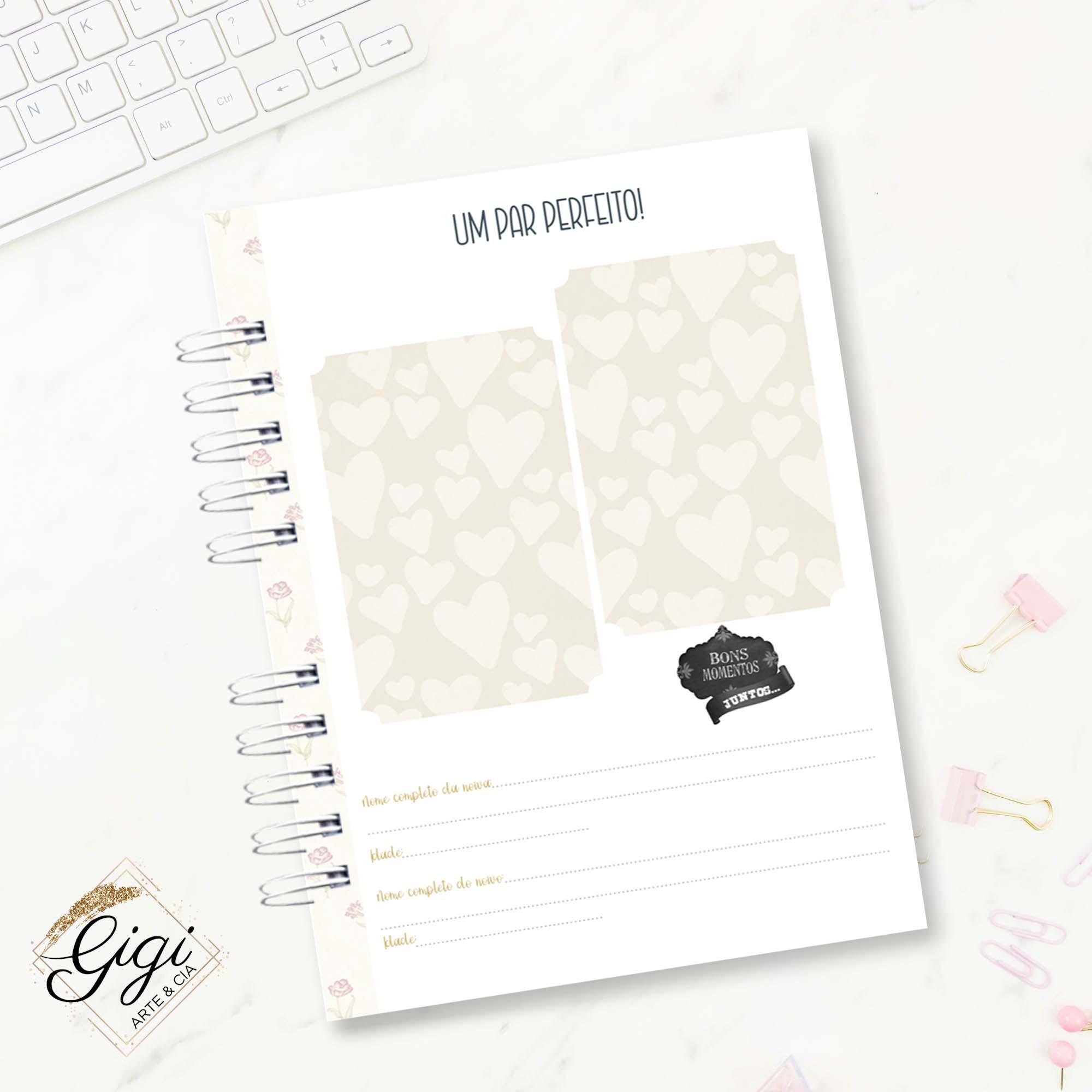 Planner da Noiva - Noivas  - Gigi Arte e Cia