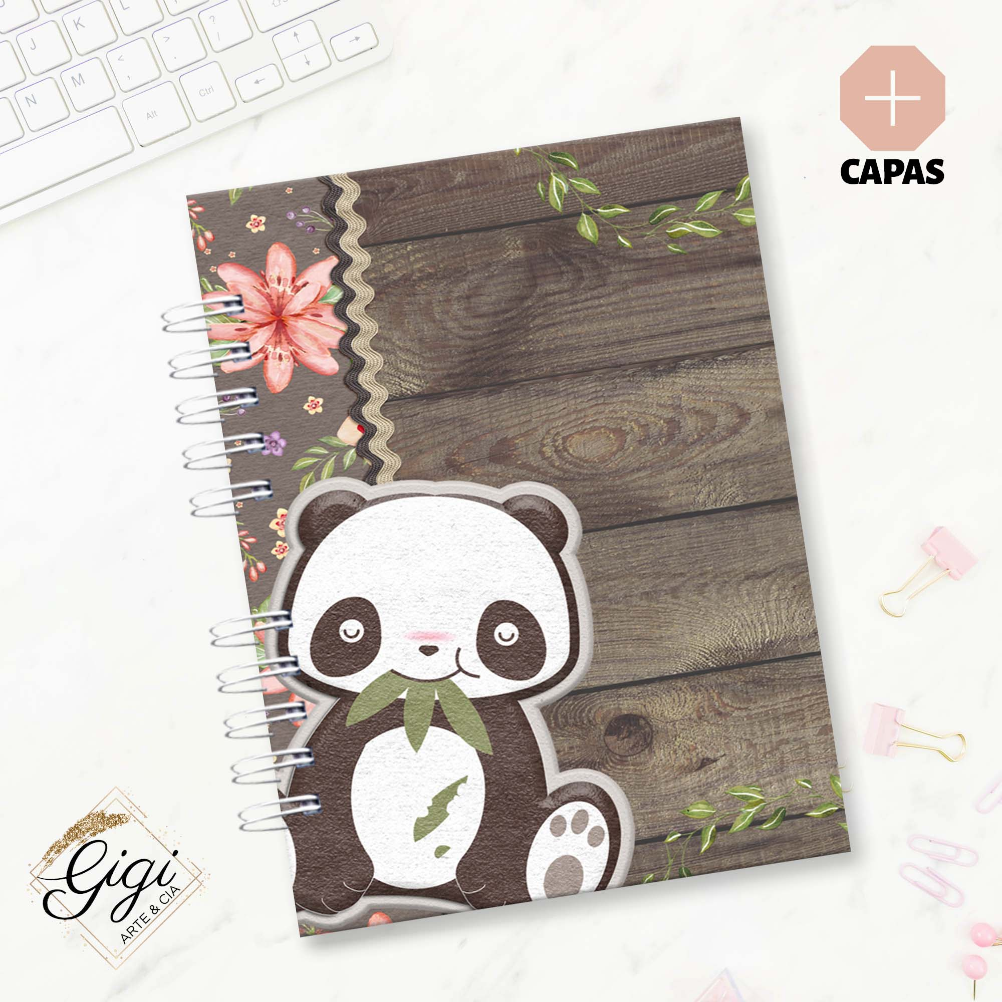 Planner - Panda  - Gigi Arte e Cia
