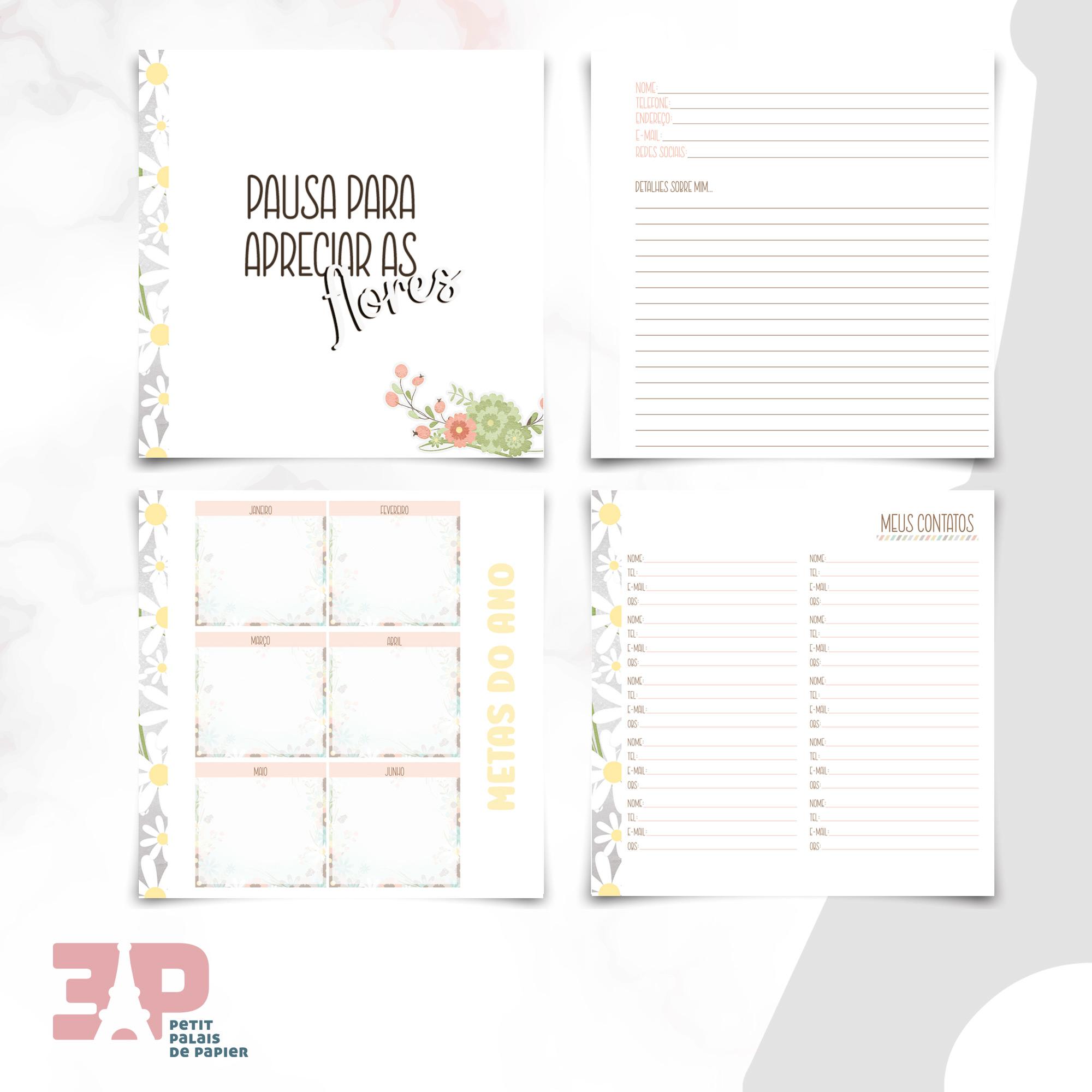 Planner - Pausa Necessária  - Petit Palais de Papier