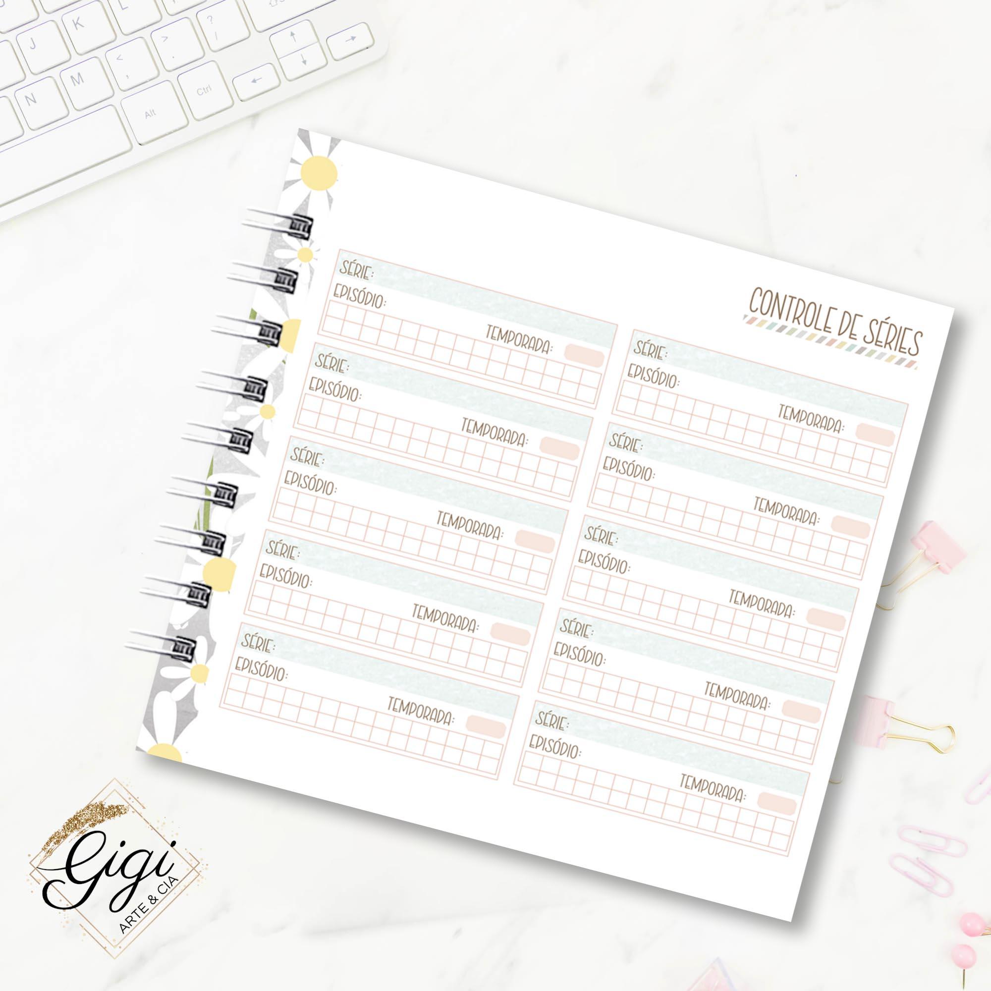 Planner - Pausa Necessária  - Gigi Arte e Cia