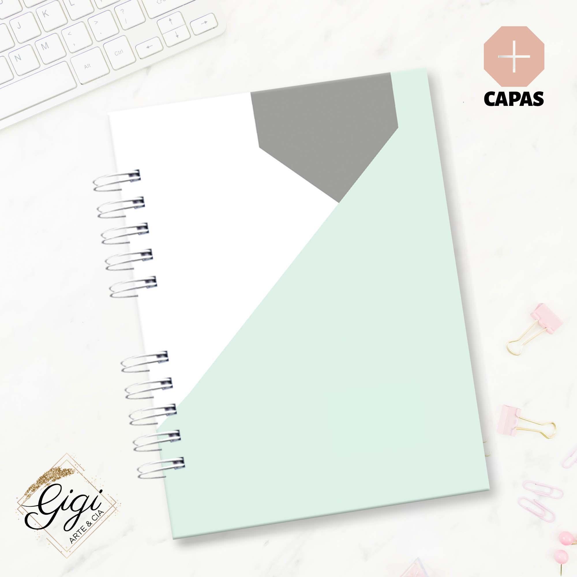 Planner Permanente - Linha Geométrica  - Gigi Arte e Cia
