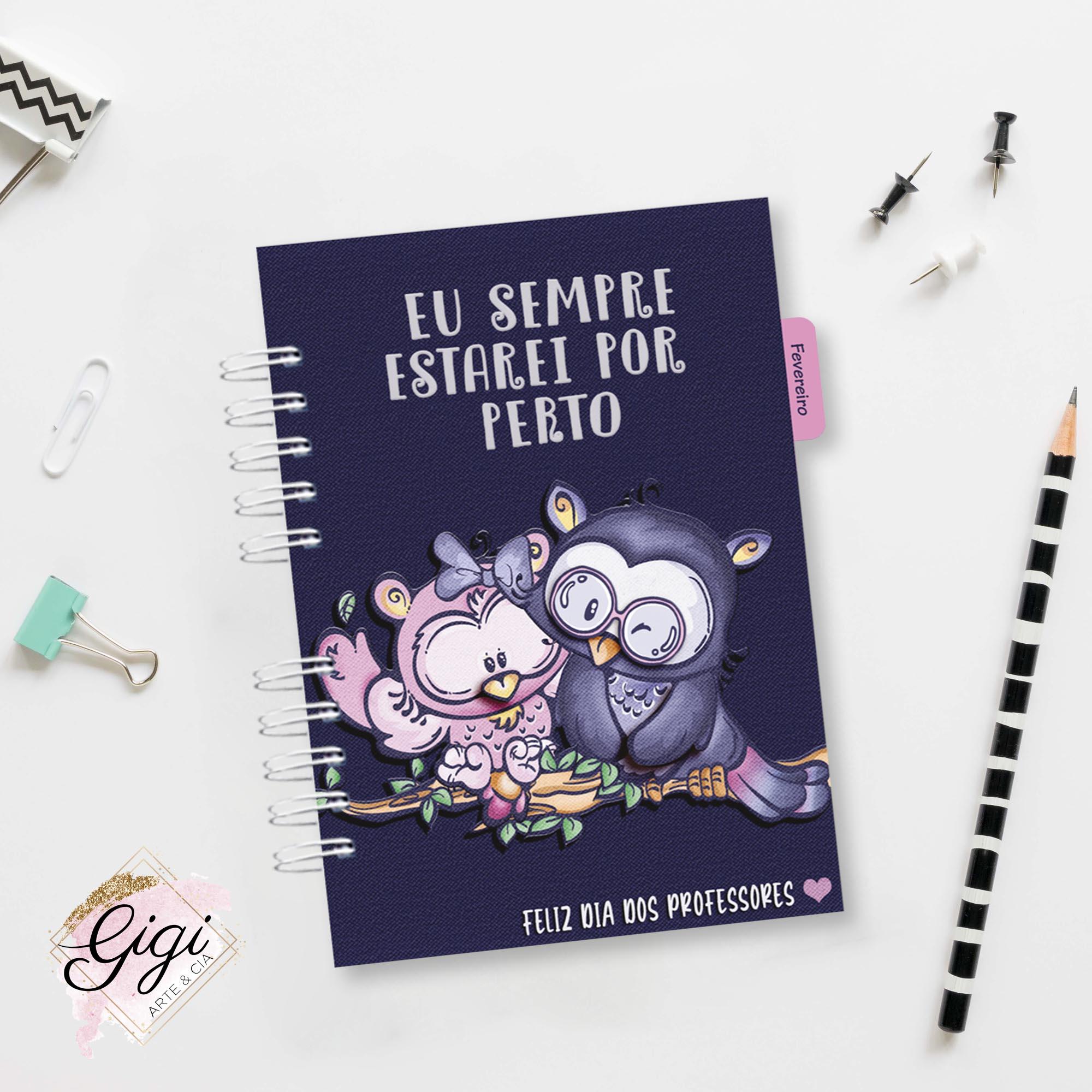 Planner - Professores  - Gigi Arte e Cia