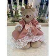 Ursa de Pelúcia Kikinha Princesa 4