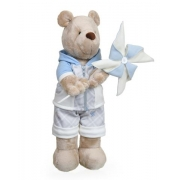 Urso de Pelúcia Bob Brincadeira com Cata-vento