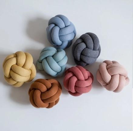 Almofada Knot Tricot