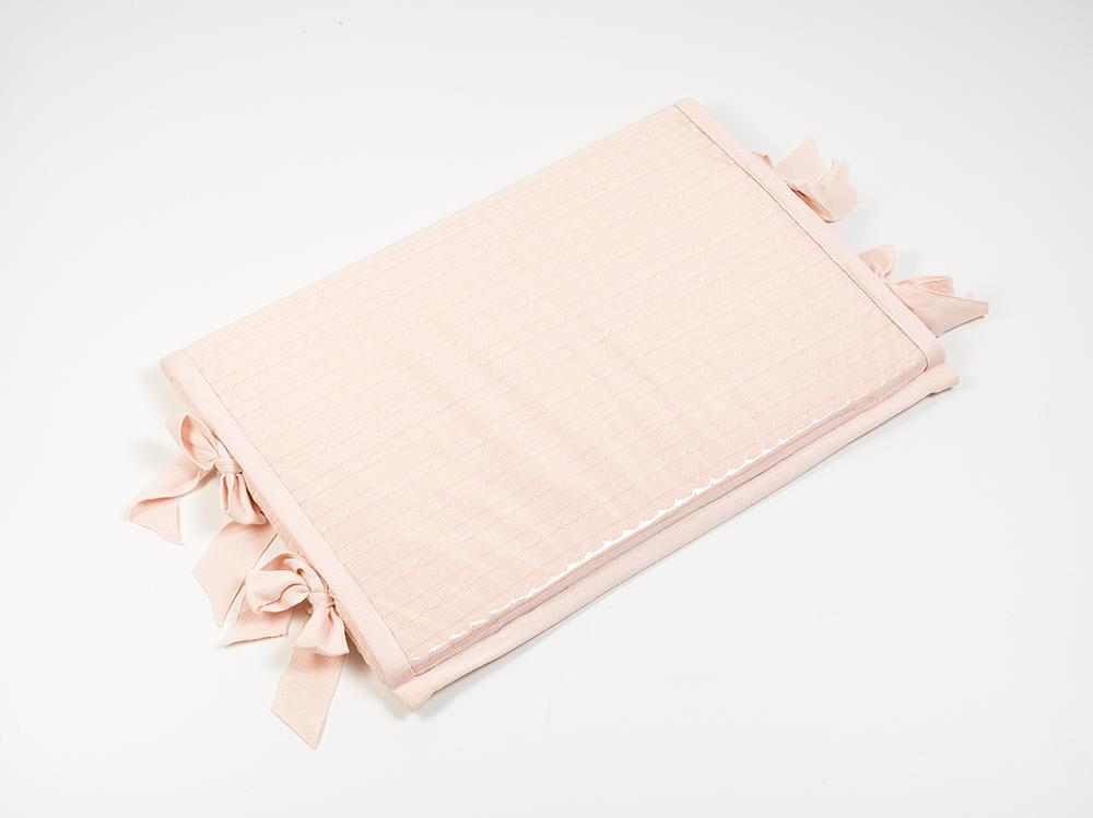 Trocador para Bebê Rosa Combinações Rian Tricot