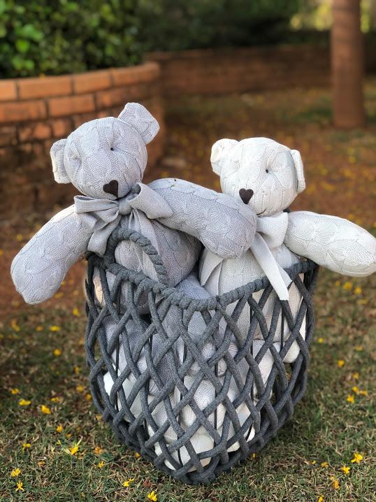 Ursinho Pequeno Tricot