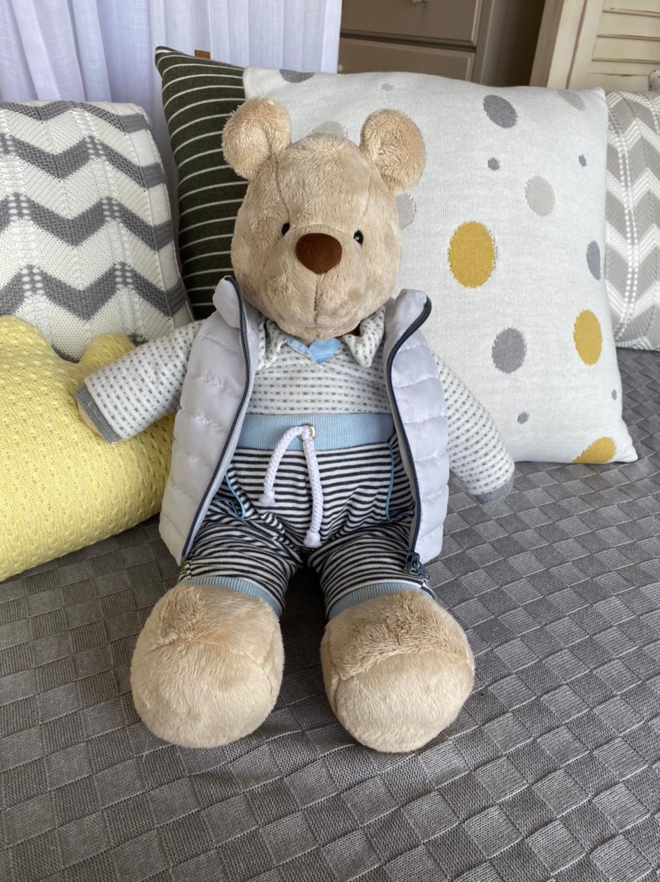 Urso de Pelúcia Bob Stylish