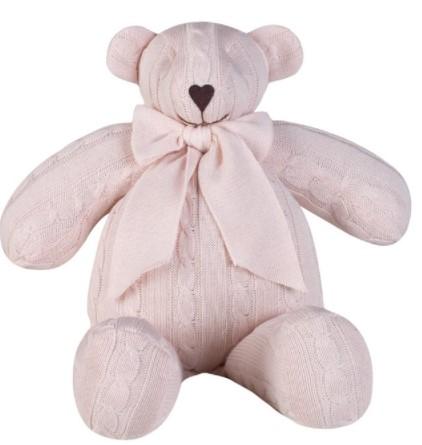 Urso de Tricot Médio - 35 cm