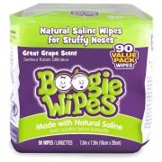 Boogie Wipes Cheiro de Uva - 90 unidades