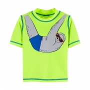 Camiseta proteção solar bicho preguiça | 18 meses