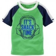Camiseta Proteção Solar Snack Time | 6 meses