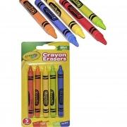 Giz de Cera que Apaga Crayola - 5 cores