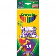 Lápis de Cor Crayola (que apaga) - 24 cores