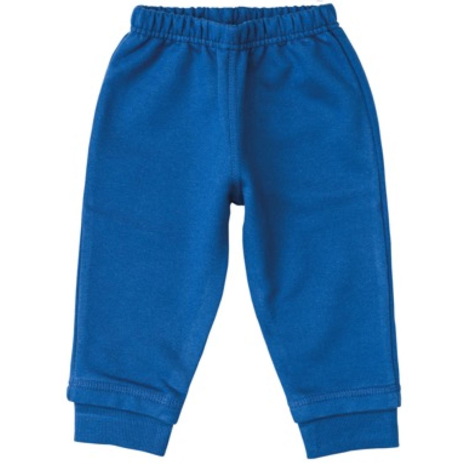 Calça Malha Azul | 06-12 meses