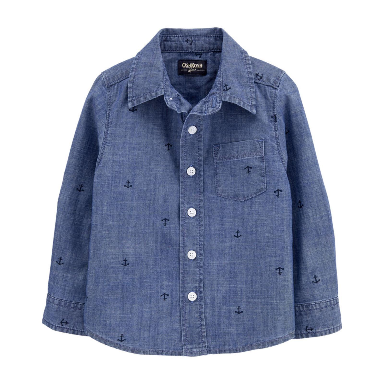 Camisa jeans ancoras