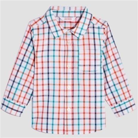 Camisa Xadrez Colorida| 18-24 meses
