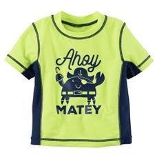 Camiseta Proteção Solar Ahoy Matey | 06 meses