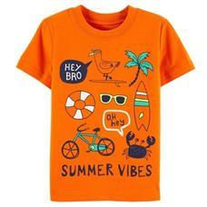 Camiseta Summer Laranja | 2 anos