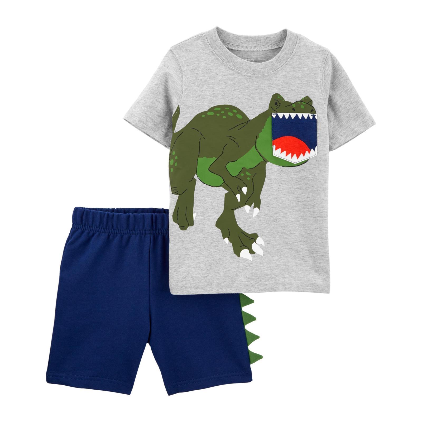 Conjunto 2 peças dinossauro