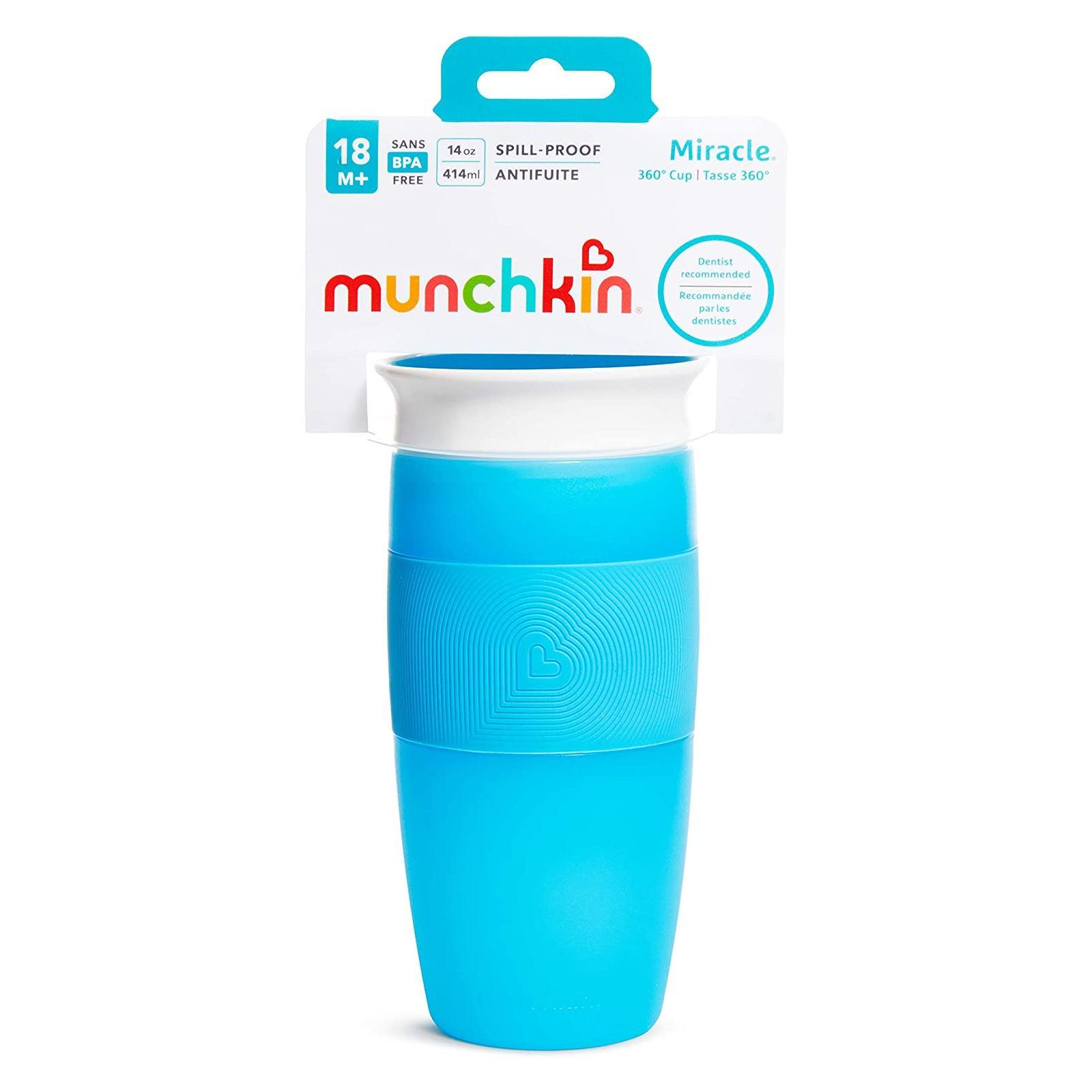 Copo de Transição 360 Grande Azul - Munchkin 414 ml