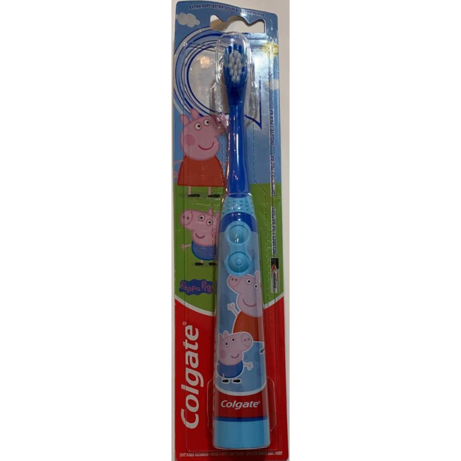 Escova Elétrica Peppa e George Azul