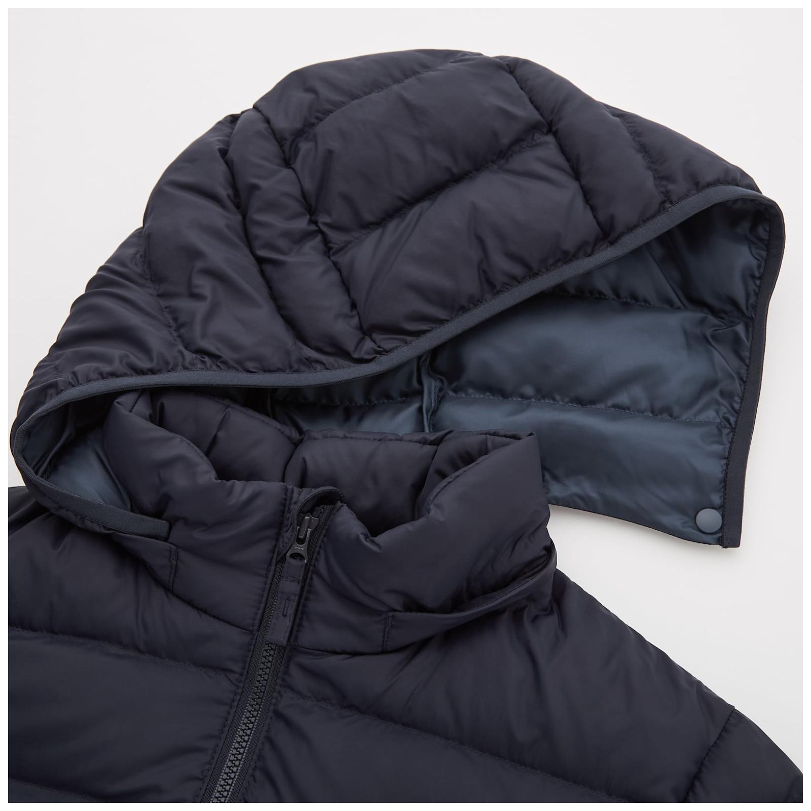 Jaqueta de Inverno Uniqlo Preta - 7-8 anos Unissex
