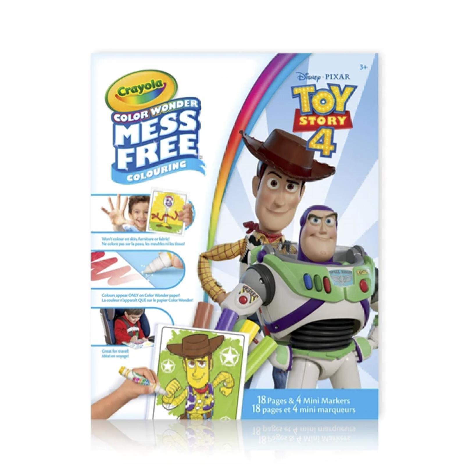 Kit de Canetinhas com Folhas para Colorir Crayola - Toy Story 4