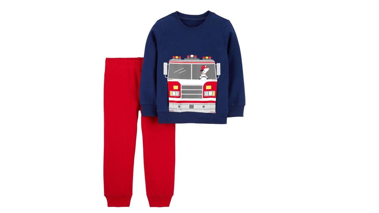 Pijama 2 Peças cachorro - estilo moletom